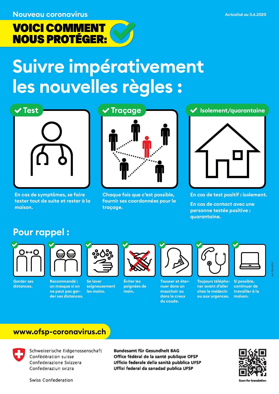 Documentation traduite COVID-19 - République et canton de Neuchâtel